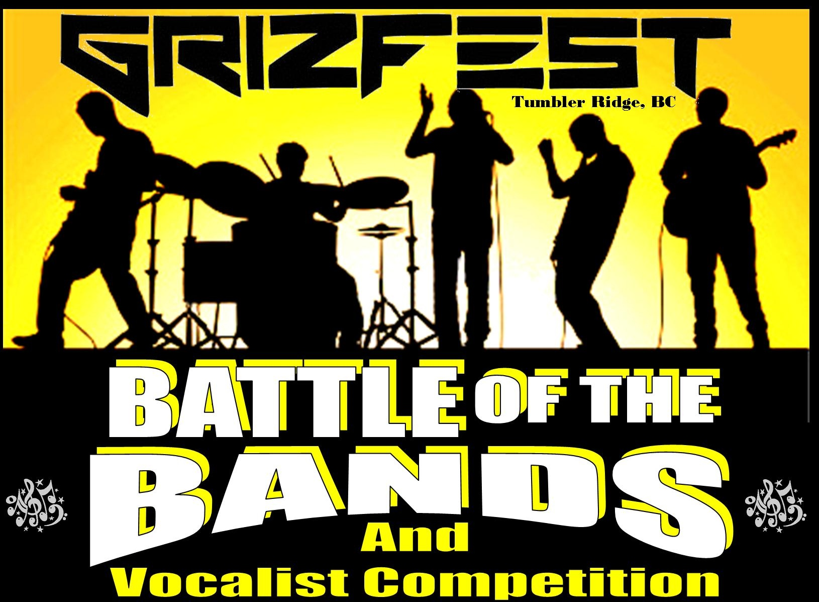 Battle of the Bands & Vocalist Competition – 7PM Friday – Cash Prizes!